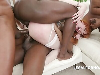 Loan Sharks #3! Lauren Phillips pays her debt, 7on1 BBC Gangbang with Boloney Abyss Anal, Gapes, DAP, Creampie GIO979