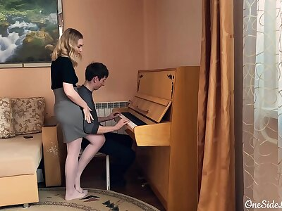Omnibus on the Piano Deep Sucking Dick Pupil added to Fucking