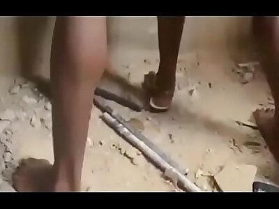 African nigerian ghetto boys gangbang a unused  / part 1