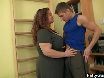 BBW fucks their way capability instructor