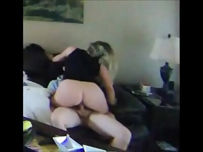 Curvy cheating become man on real homemade